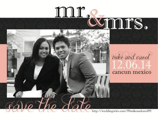 Magnet Save the Date