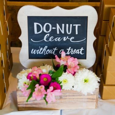 Wedding Favor Signage